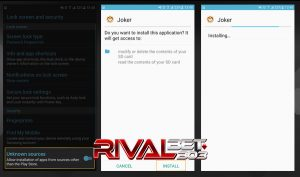 Install Joker123 Android Part 2